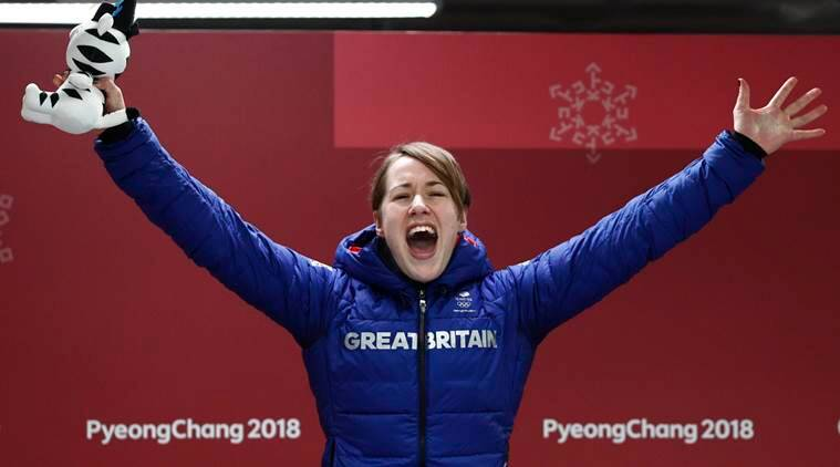 Winter Olympics 2018: Lizzy Yarnold retains skeleton gold, Laura Deas adds British bronze