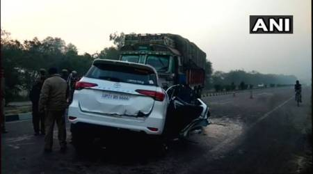 BJP MLA killed in UP road accident