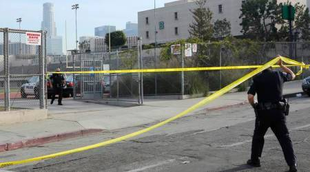 Girl, 12, arrested in shooting that wounds five at Los Angelesschool