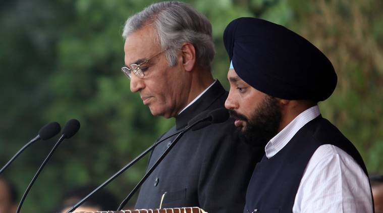 Arvinder Singh Lovely, Who is Arvinder Singh Lovely, Lovely joins Congress, Lovely quits BJP, Ajay Maken, Congress member, Indian Express
