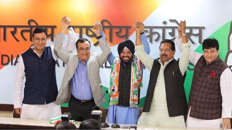 Arvinder Singh Lovely makes U-turn, joins Congress