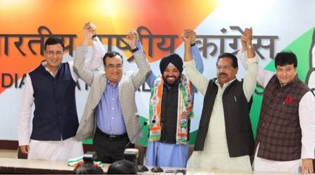 Arvinder Singh Lovely rejoins Congress, says he was 'ideological misfit in BJP'