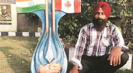 Punjab artists welcome Trudeau with unique artworks