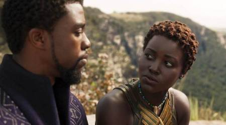 It's not your average sweetheart story: Lupita Nyong'o on her character's relationship with BlackPanther