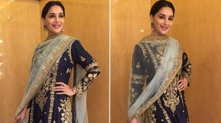 Madhuri Dixit's ethnic outfit is drool-worthy but the execution is TOO boring