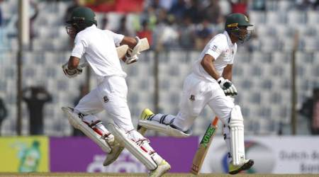 Bangladesh all out for 43 in 1st Test against West Indies