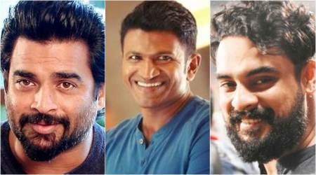 Madhavan, Puneeth Rajkumar and Tovino Thomas in Vinnai Thaandi Varuvaya 2