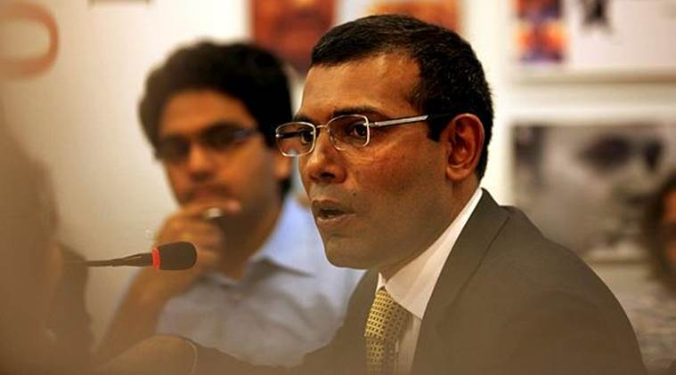 """Former president Mohamed Nasheed said Maldives has nothing against China, but it should not attempt to change the """"state type"""" and have democratic oversight, among other things. (File)"""