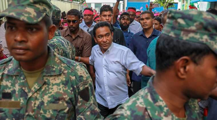 maldives, political prisoners free, male, maldivian opposition, supreme court, president yameen abdul gayoom, indian express