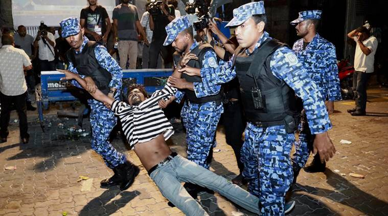 Maldives is in a state of emergency