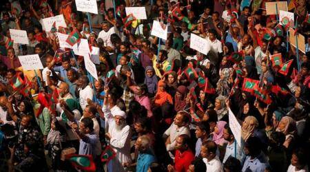 Maldives crisis: US asks President Abdulla Yameen to restore rights of people,institutions