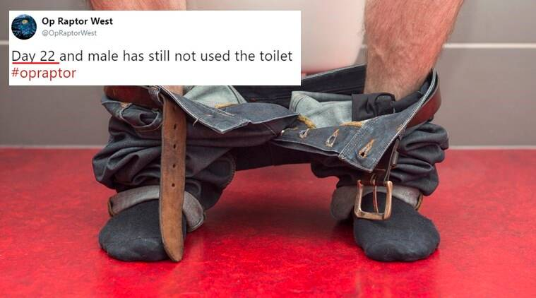 poo watch, man goes 22 days without pooping, drug dealer poo watch by UK, UK police drug dealer poo watch, drug dealer refuses to go to toilet, drug dealer poo watch by polidce viral funny story, funny viral stories, Indian Express, Indian Express news