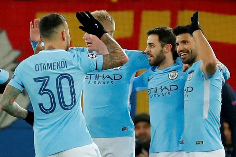 Win for City, draw for Spurs in Champs League