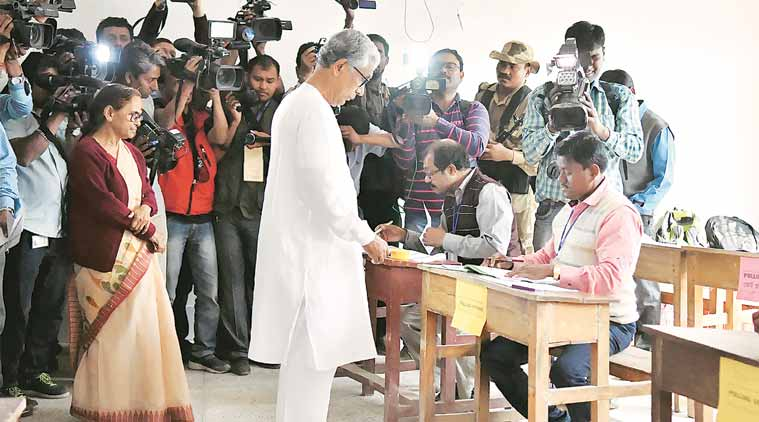 Tripura Assembly elections: 78 per cent voter turnout, BJP hopes to make inroads in red bastion for 25 years