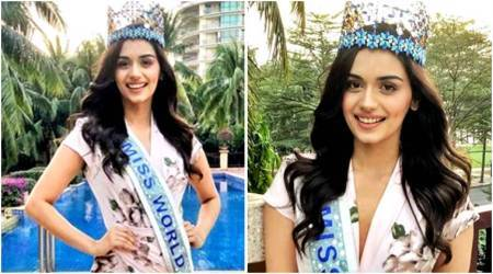 Manushi Chhillar is cuteness overload in this floral outfit