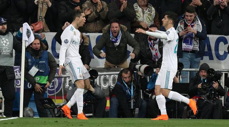 Real Madrid beat PSG 3-1 in Champions League.
