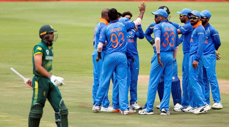 India are leading 3-0 in ODI series against South Africa.