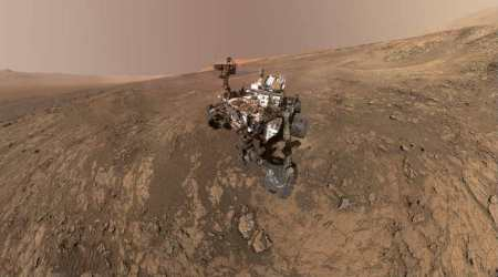 Mars image provides vista of key sites visited by NASA's Curiosity rover