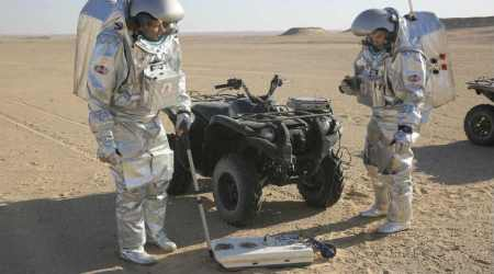 Mars on Earth: Simulation tests in remote desert of Arabian Peninsula