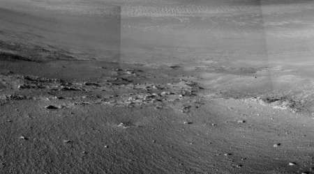 NASA's Opportunity rover completes 5,000 days on Mars, spots possible signs ofwater