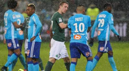Marseille's grip on second spot in danger after St Etienne draw