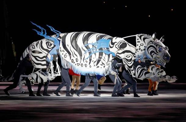 2018 Winter Olympics opening ceremony: Stunning visuals from PyeongChang