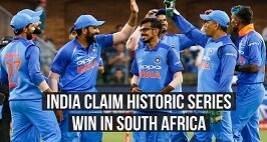 India Claim Historic Series Win In South Africa