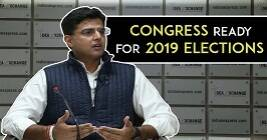 I'm Happy To Have The Elections Anytime, Sachin Pilot On 2019 General Elections.