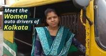 Meet The First Women Auto-Rickshaw Drivers of Kolkata