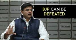 The Myth Of BJP Being An 'Election Winning Machine' Has Been Broken, Sachin Pilot