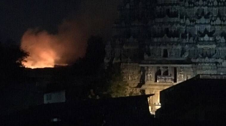 30 shops gutted in major fire at Meenakshi temple