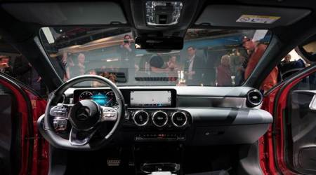 'Hey Mercedes' – Daimler takes on Silicon Valley with hi-tech A-Class