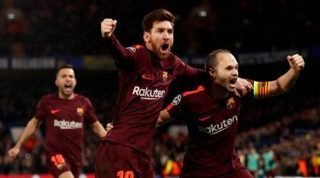 UEFA Champions League: Lionel Messi ends goal drought against Chelsea, gives Barcelona edge in Round of 16 tie