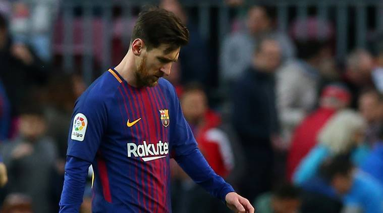 Lionel Messi, Lionel Messi Barcelona, Barcelona Lionel Messi, Alexis Sanchez, Champions League, sports news, football, Indian Express