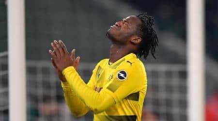 Europa League: Borussia Dortmund's Michy Batshuayi slams Atalanta fans for racistchants