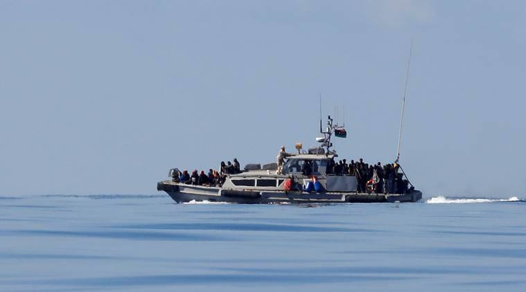 90 migrants feared drowned after boat capsizes off Libya