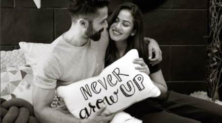 "Mira Rajput and Shahid Kapoor promise to ""never grow up"""