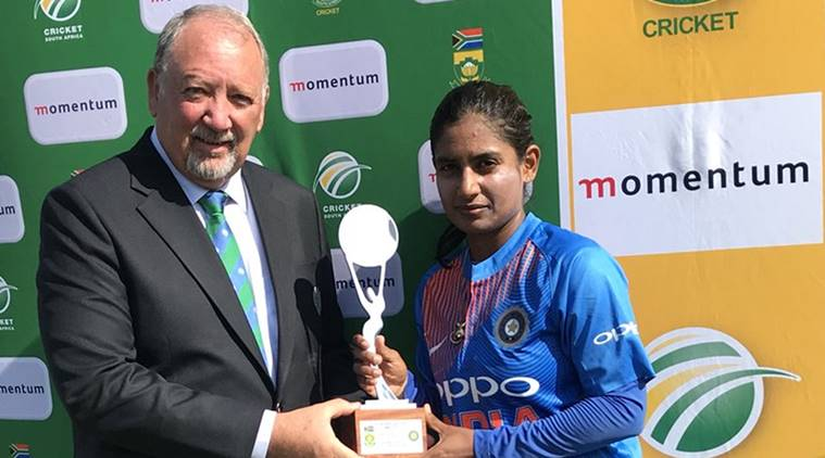 Indian women vs South Africa women, Mithali Raj, Mithali Raj news, Mithali Raj runs, Mithali Raj India, Indian Mithali Raj, sports news, cricket, Indian Express