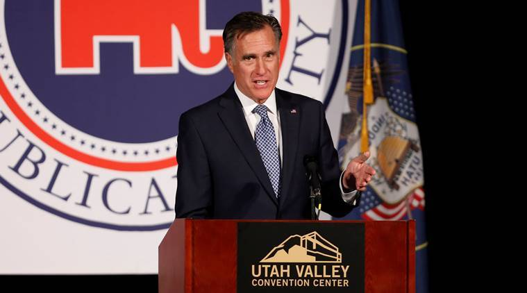 Romney makes it official He's running for Utah Senate seat