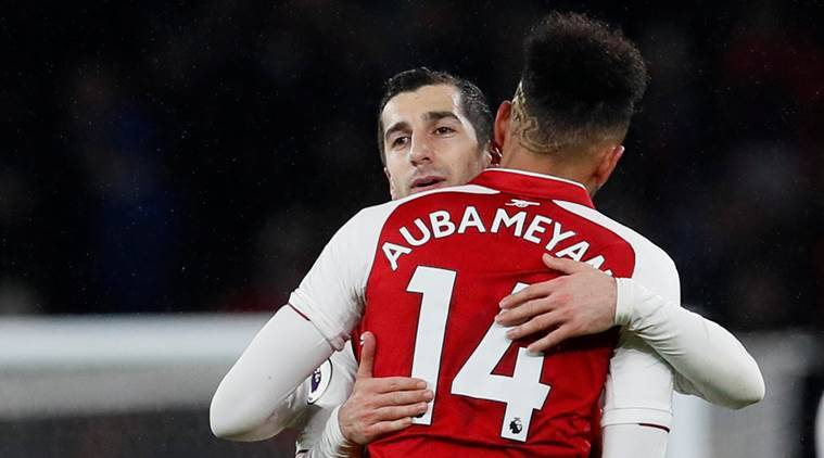 Wenger Reveals What He Expects From Aubameyang & Mkhitaryan Against Spurs