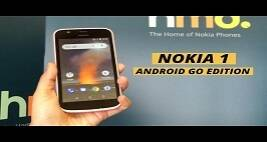 Nokia 1: Meet the Android Go smartphone