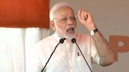 PM Modi attacks Congress in Puducherry: Compare 48-year rule of one family with NDA's 48 months