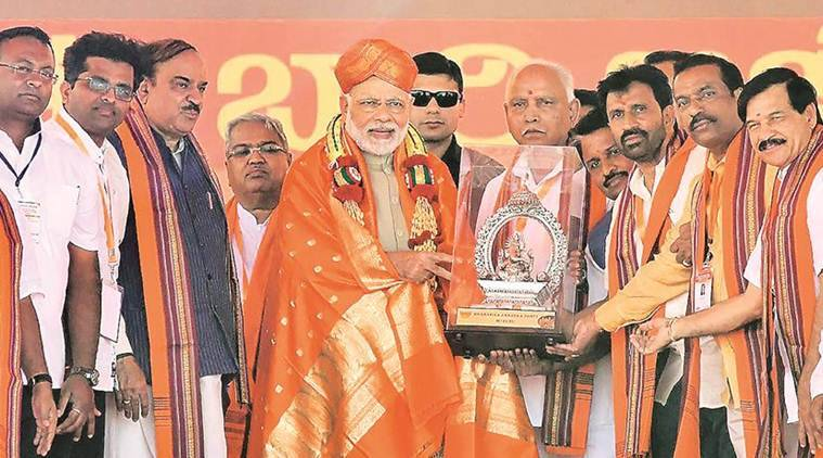 PM Modi in Mysuru: Congress like bump in path to development