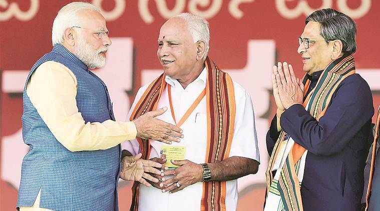 In Karnataka, Modi says his govt's TOP priority is Tomato, Onion and Potato