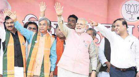It is time to throw away Manik and choose HIRA: PM Modi in Tripura