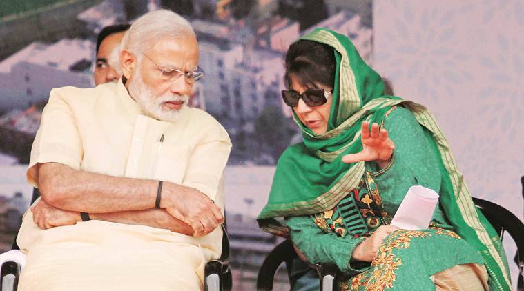 Even as the PDP and BJP appear to pull apart from each other, what is becoming clearer is that the two are determined to stick it out .
