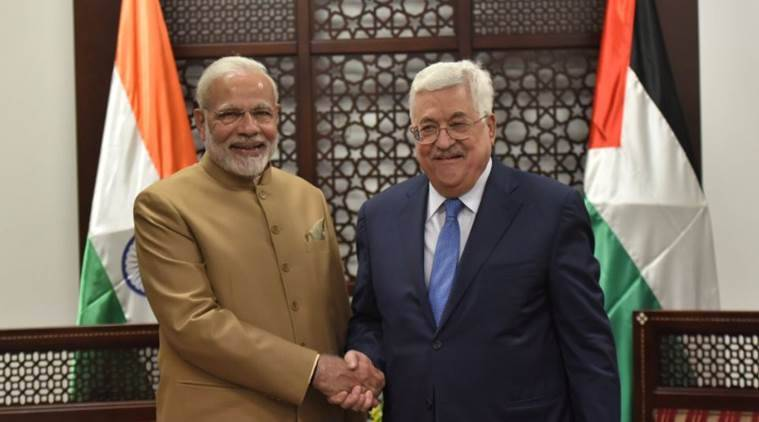 PM Modi in Palestine: India hopes Palestine becomes a free country in peaceful manner