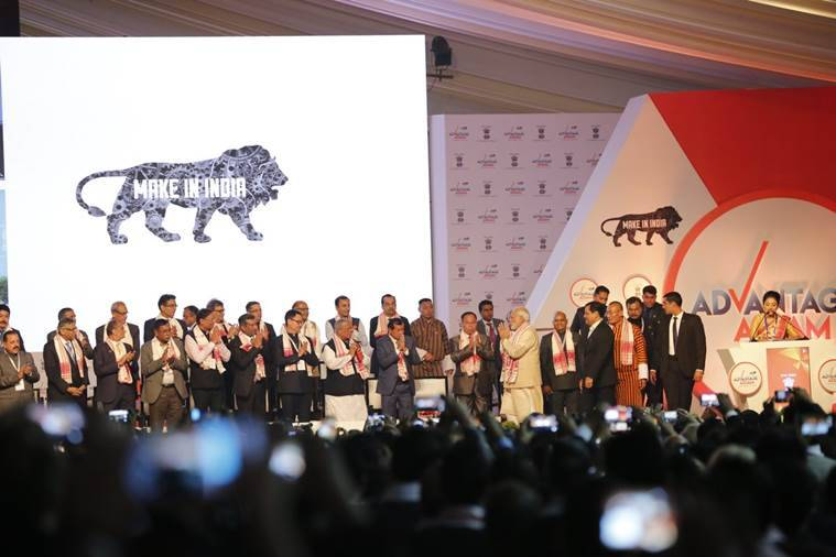 Prime Minister Narendra Modi at Assam Global Investor Summit