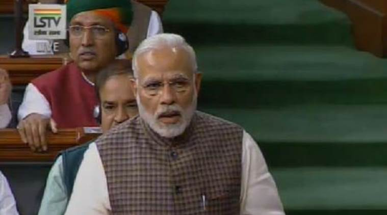Do not give lessons in democracy, PM Modi tells Congress in counter attack