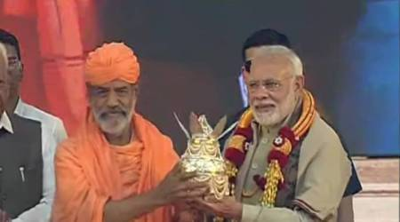 Modi in Karnataka LIVE UPDATES: PM arrives in Shravanabelagola for Bahubali Mahamasthakabhisheka Mahotsav